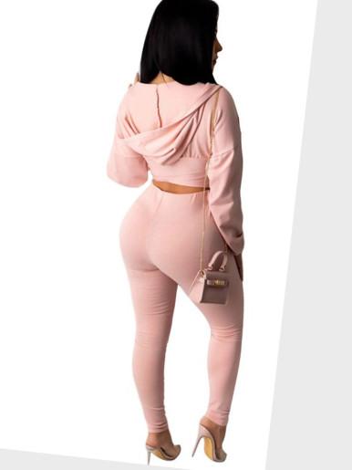 Women 2 Piece Set Hoodie + Pants