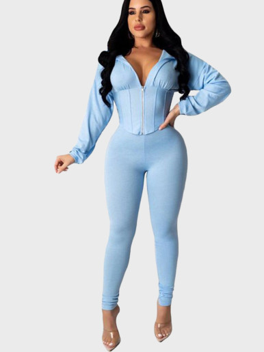Women 2 Piece Set Hoodie + Pants