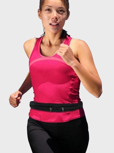Single / Double Sports Waist Bum Bag Fitness Running