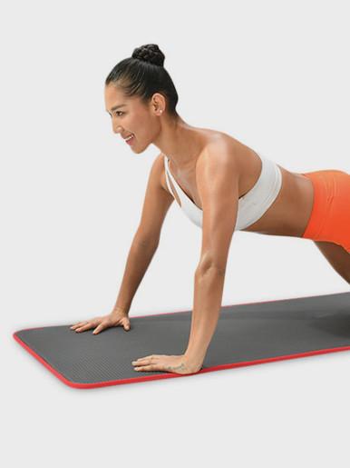 10mm Extra Thick 183*61cm NRB Non-slip Yoga Mat