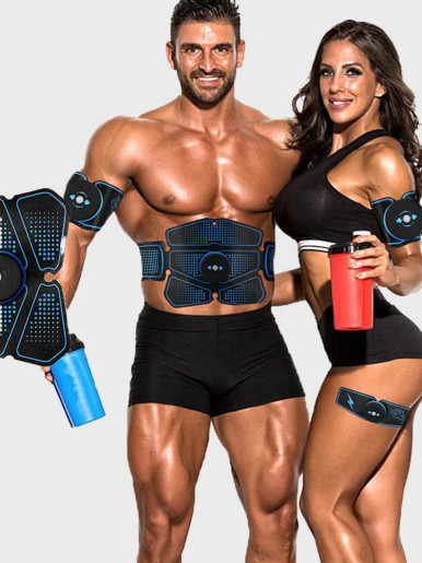 EMS Muscle Stimulator And Abdominal Trainer For Slim Body