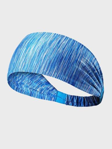 Elastic Fitness Yoga Antiperspirant Athletic Hairband