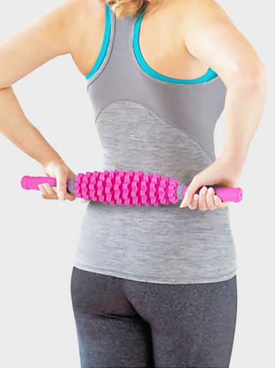 3 in 1 Detachable 12 Gears Adjustable Muscle Roller Massage Stick