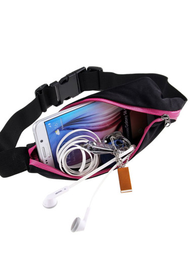 Single / Double Sports Waist Bum Bag Fitness Running