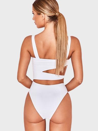 Cut Out Swimsuit Women