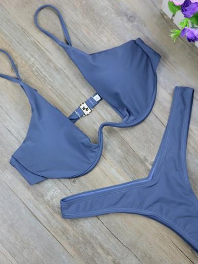 Underwire Bikini Set Women