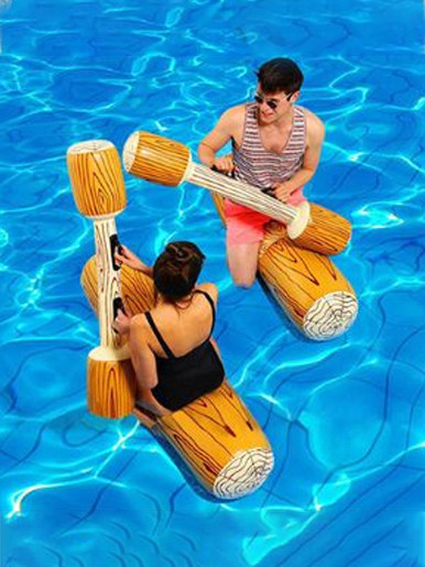 4PCS/ Swimming Pool Float Game Inflatable Water Sports Bumper