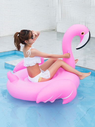 Giant Inflatable Flamingo Swan Swimming Pool Float Tube Raft Adult Pool Toy