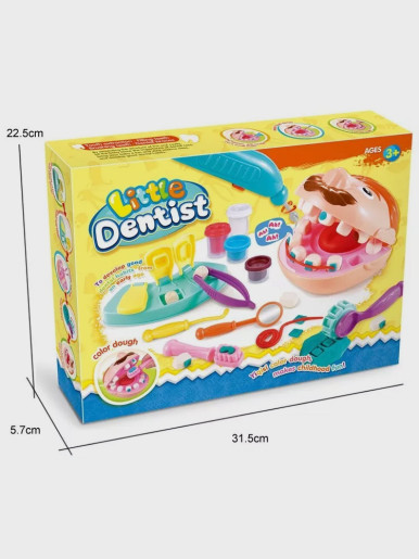 Simulation Doctor Toys For Children Dentist Check Teeth Model Set