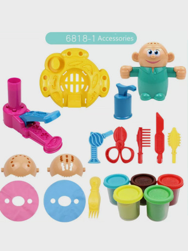 Colour Mud Handmade DIY Hairdresser Tool Kit Kids Toys