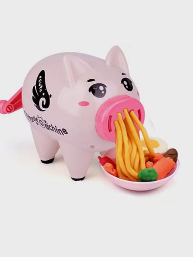 Pig Pasta Machine DIY Colour Mud Kids Toys