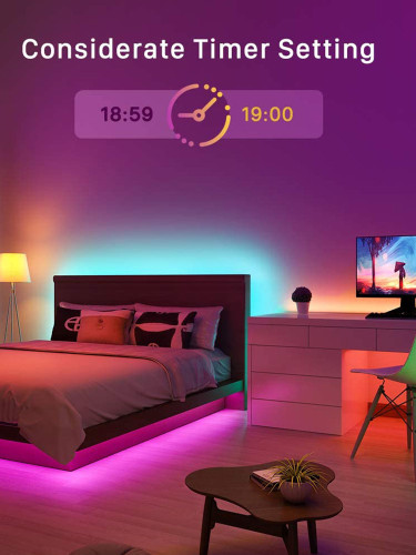 USB Colourful RGB 5050 LED Light Strip