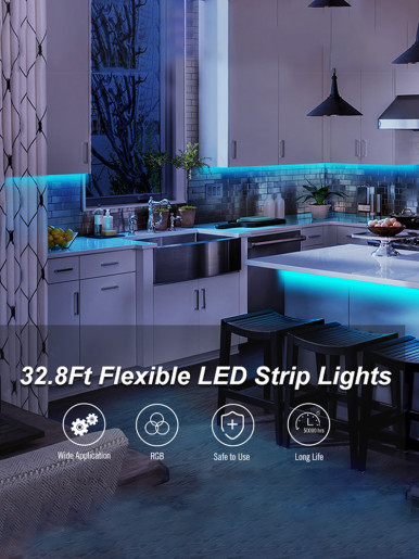 5V USB LED RGB Light Strip Lamp Tape 16FT SMD5050