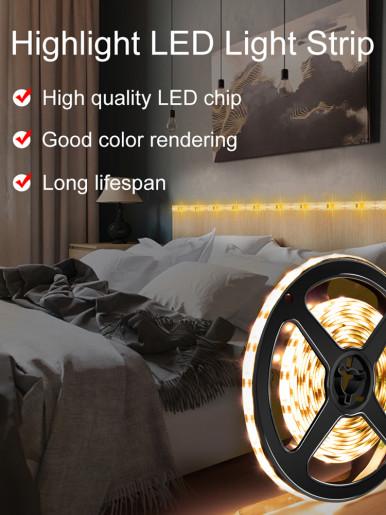 USB 16ft White LED Light Strip