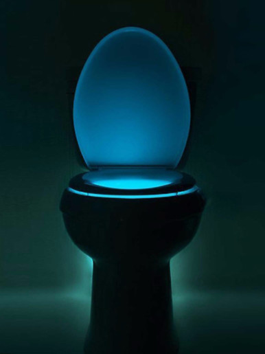 Toilet Seat Light Glow LED Night Light