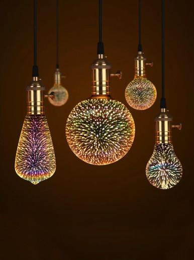3D LED Magic Night Light Bulb Galaxy