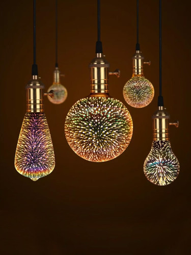 3D LED Magic Night Light Bulb Galaxy