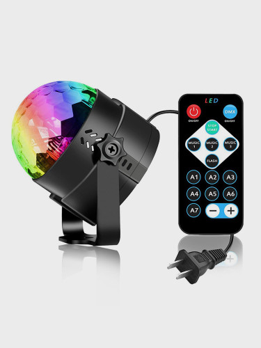 Sound Activated Rotating Disco Light Ball