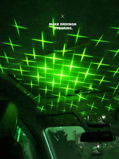 Car Romantic USB Star Ceiling Projector Light