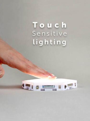 Quantum lamp led modular touch lighting Hexagonal lamps