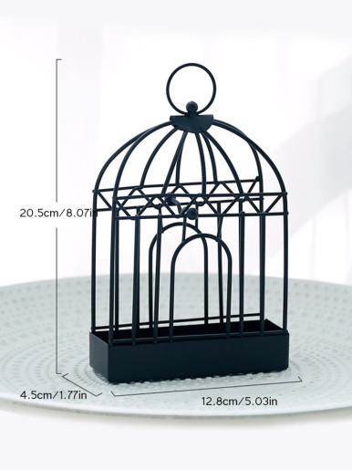 Iron Bird Cage Mosquito Repellent Coil Holder