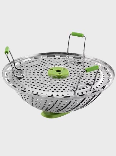 Foldable Stainless Steel Steamer Basket