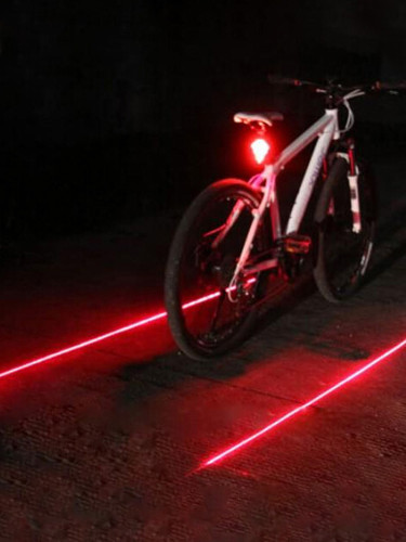 LED Bike Tail Light Bicycle Safety Cycling Warning Rear Lamp