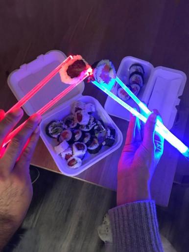 Lightsaber Chopsticks   Star Wars Gifts LED Light Up