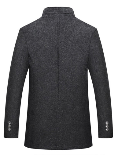Business Men's Jacket with Cotton Gilet