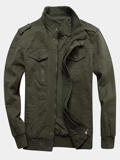 Utility Military Jacket for Men