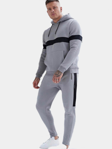 Men Tracking Suit with Taping