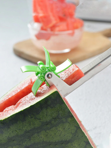 Stainless Steel Windmill Shape Watermelon Slicer
