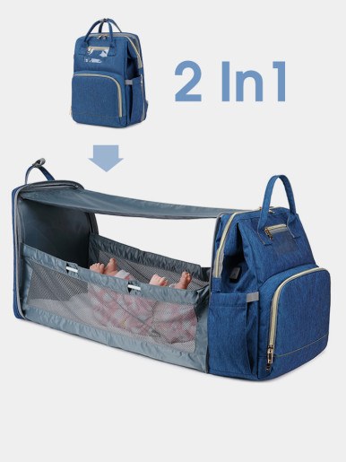 New Upgrade - 2 In 1 Multifunction Travel Mummy Bag
