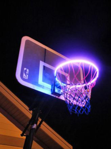 LED Light Basketball Hoop Solar
