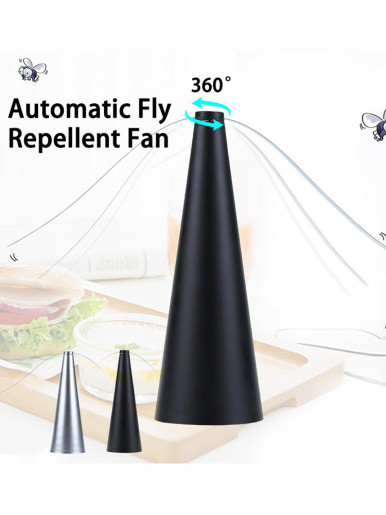 Portable Automatic Fly Repellent Fan