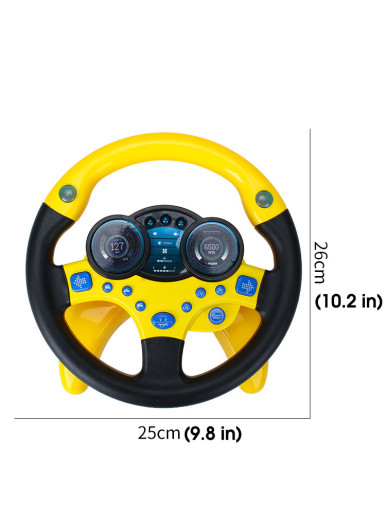 Kids Steering Wheel Simulation Toy