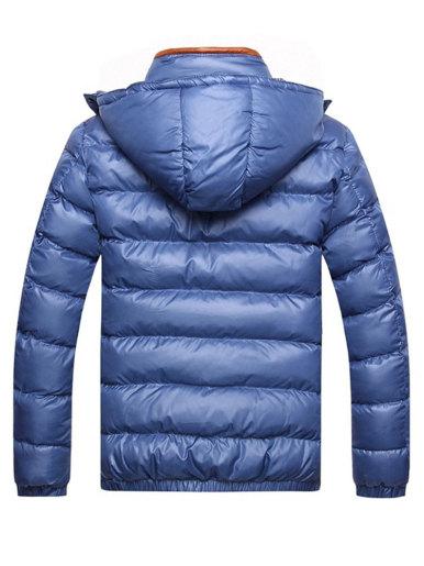 Men's Hooded Padded Jacket