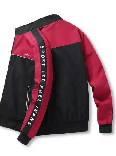 Double-sided Wear Men's Panelled Jacket