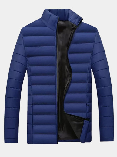 Quilted Mens Padded Jacket