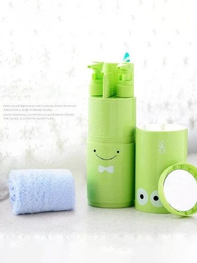 5PCS / 8PCS Portable Travelling Washing Set Toothbrush Cup Mirror Comb