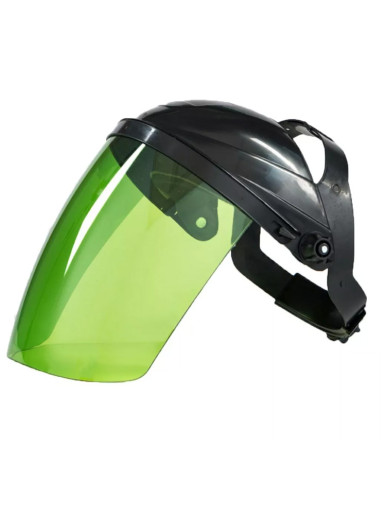 Transparent Lens Head-mounted  Protective Safety Face Cover Welding Helmet