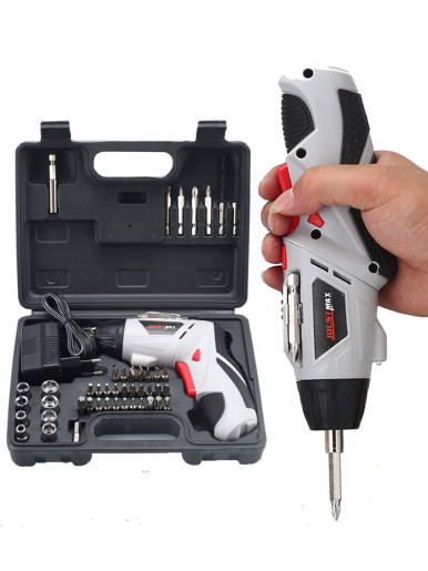 4.8V Cordless Electric Screwdriver Drill Kit