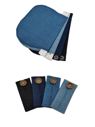 Unisex Jeans Trousers Waist Extender x4