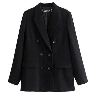 Office Lady Suit Blazer Solid Color