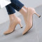 Arden Furtado summer 2019 fashion trend women's shoes pointed toe stilettos heels pure color leather slip-on party shoes pumps