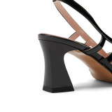 Arden Furtado Summer Fashion Trend Women's Shoes Pointed Toe  Sexy Elegant pure color Silver Sandals Concise Strange Style Heels