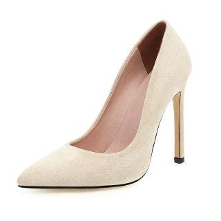 Arden Furtado Summer Fashion Trend Women's Shoes  Slip-on pure color Sexy Elegant Pointed Toe Stilettos Heels Pumps Big size 48