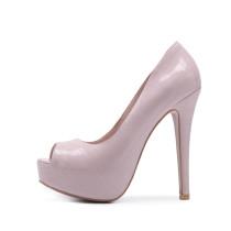 Arden Furtado Summer Fashion Trend Women's Shoes Peep Toe Stilettos Heels Platform Slip-on Sexy Elegant Concise Classics  Mature pumps Big size 48