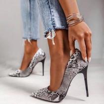 Arden Furtado Summer Fashion Trend Women's Shoes Stilettos Heels Sexy Elegant Concise Classics  Mature pumps Serpentine Big size 47