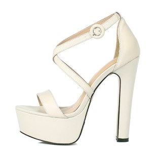 Arden Furtado Summer Fashion Trend Women's Shoes Sexy Elegant Waterproof  Mixed Colors Narrow Band Classics Buckle Sandals